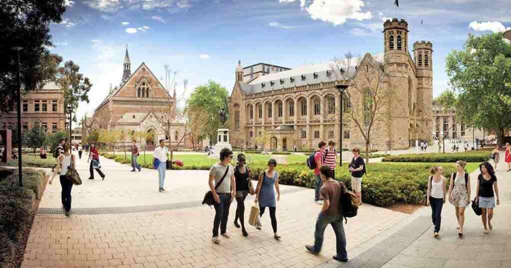 dự bị Đại học Úc