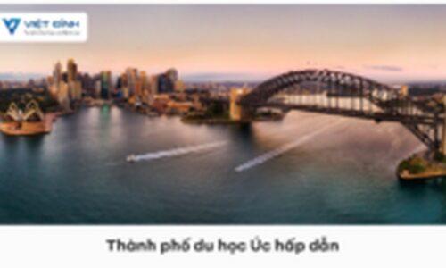 Những thành phố du học Úc hấp dẫn nhất được sinh viên chọn