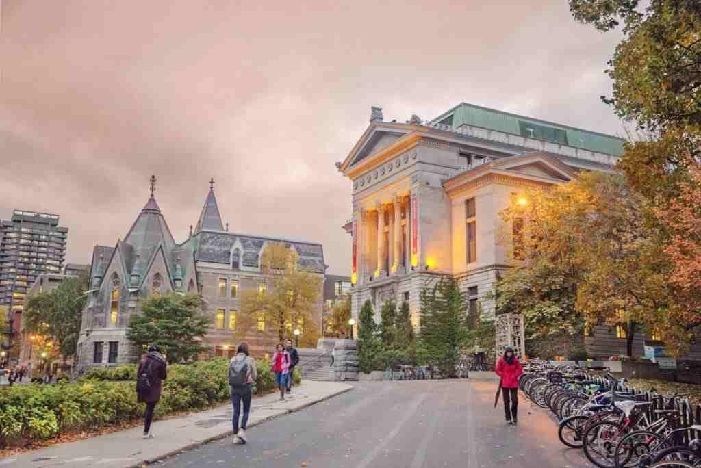 Phân loại trường Đại học Canada
