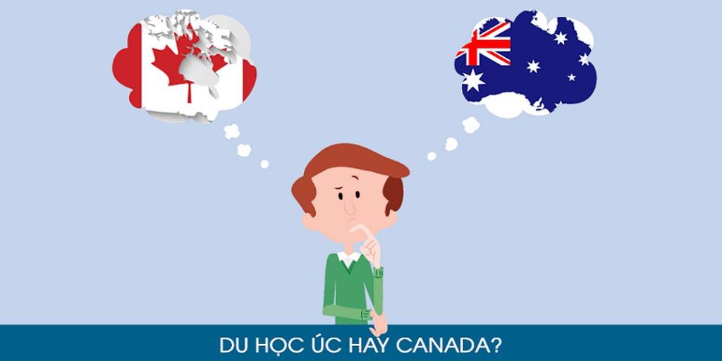 Nên du học Úc hay Canada