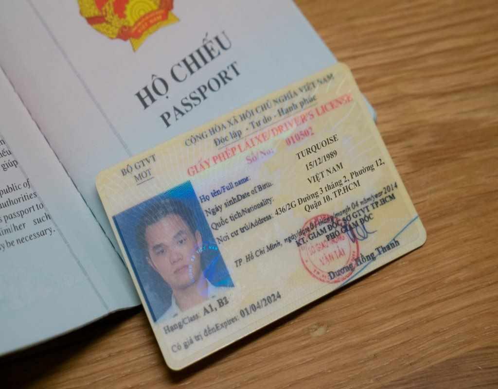 Sử dụng bằng lái xe Việt Nam ở nước ngoài