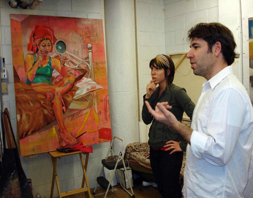 Thạc sĩ Nghệ thuật là chương trình đào tạo bao gồm thiết kế, dựng phim, làm ảnh, hội họa