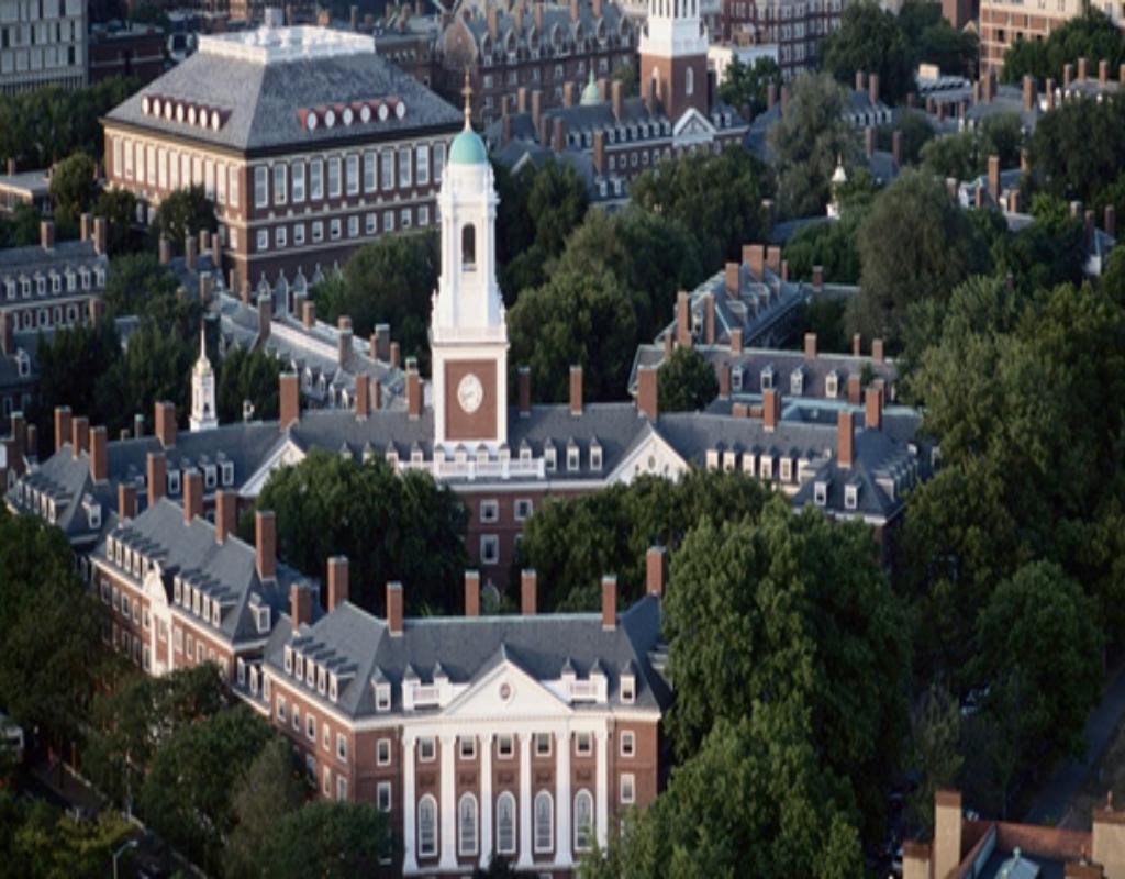 Đại học Harvard University đứng thứ 3 các trường đại học tốt nhất thế giới.