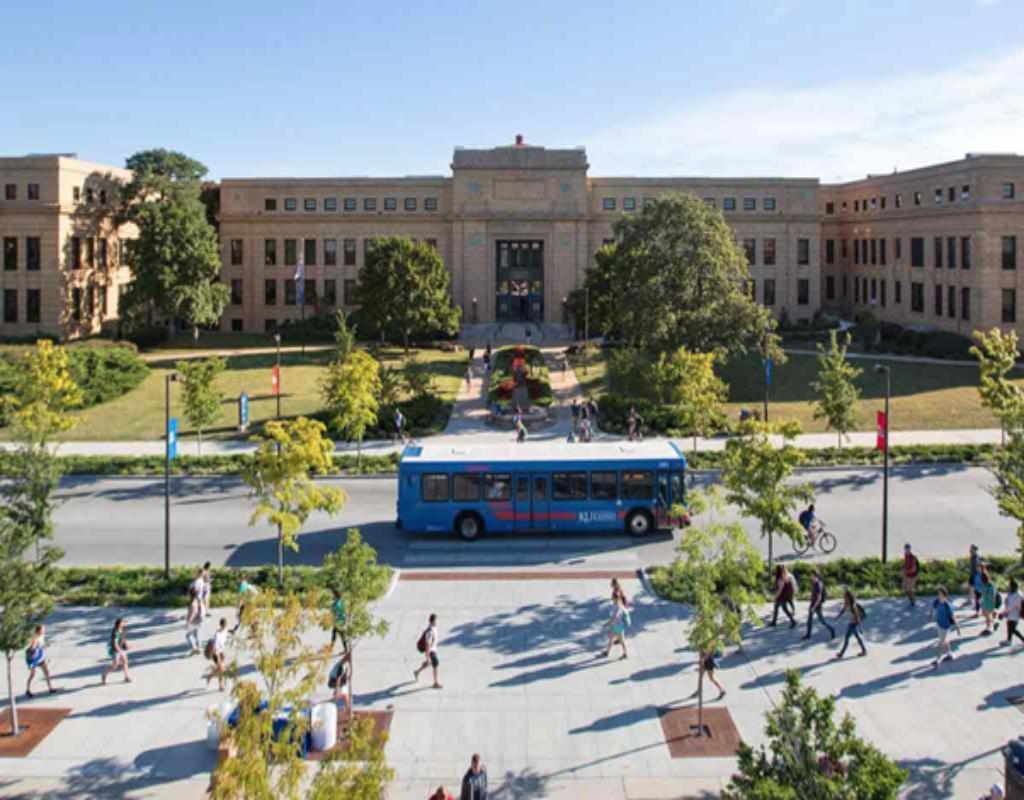Đại học bang Kansas - 1 trong 10 thành phố lý tưởng và tốt cho việc học đại học của Hoa Kỳ