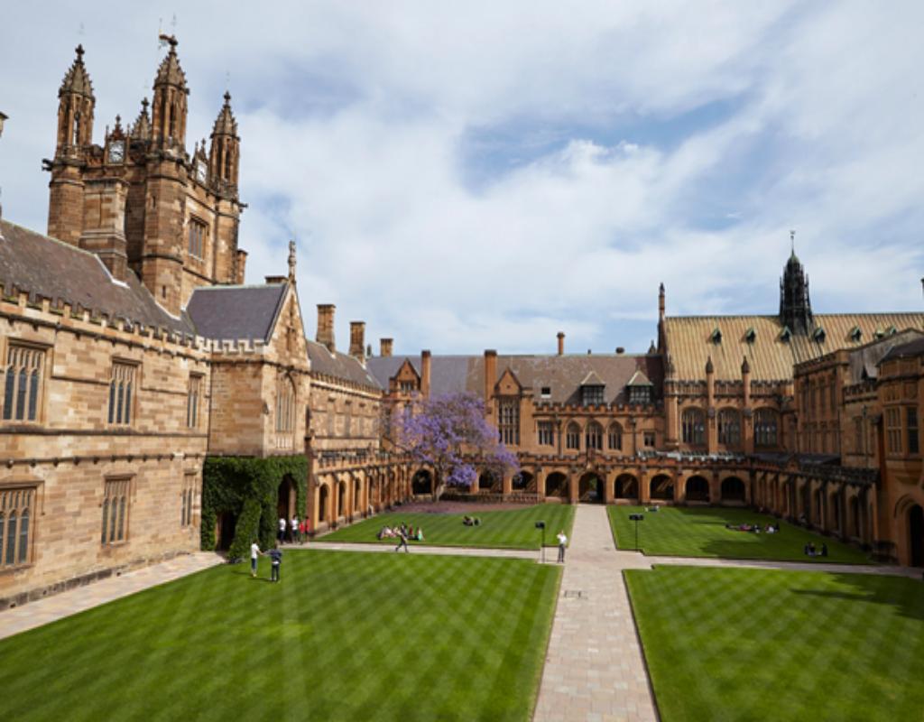 Sydney được xem là trường đại học lâu đời nhất ở Úc