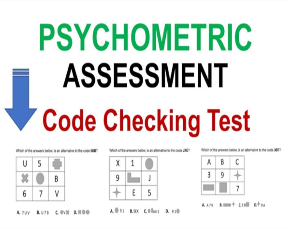 Những dạng bài test kiểm tra năng lực