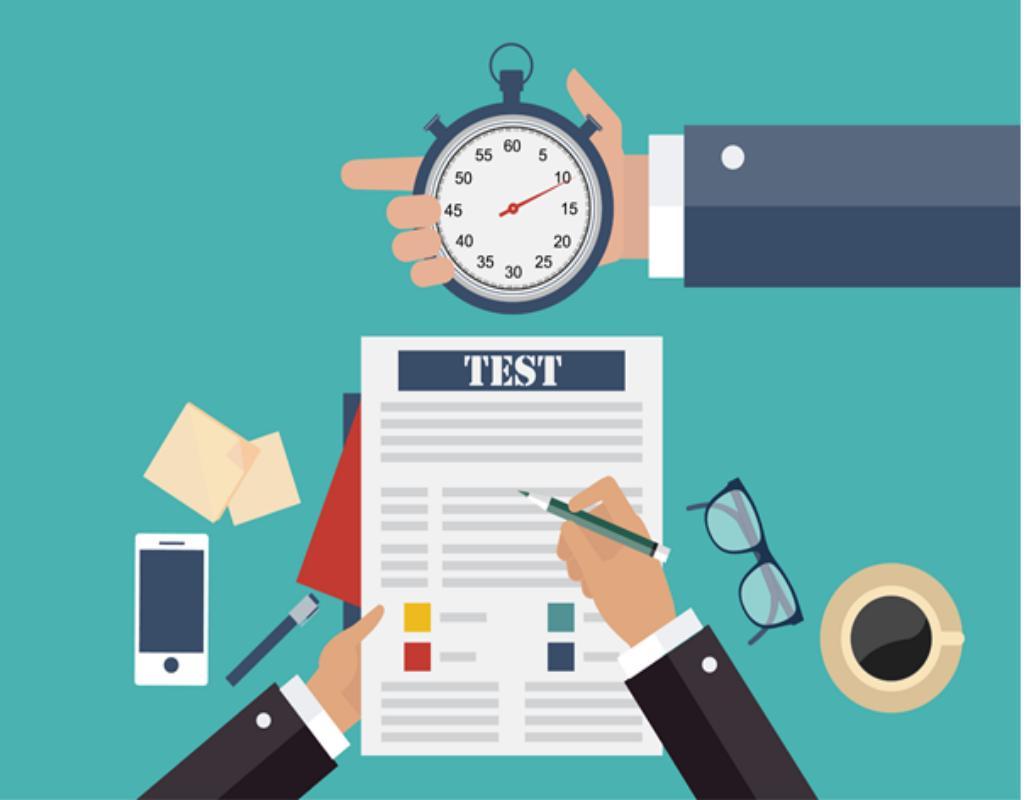 Bài test về thành tích của mỗi ứng viên