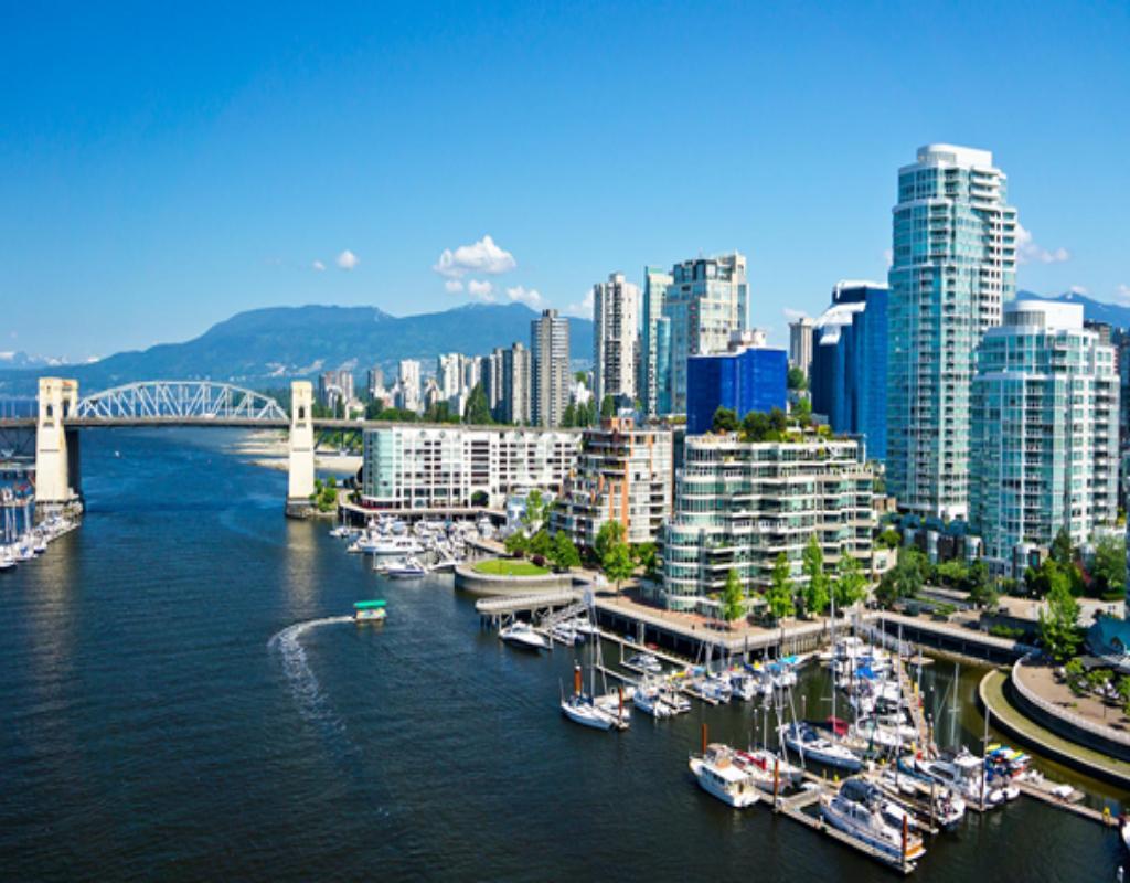 Vancouver từng được bình chọn là thành phố du học và đáng sống nhất hành tinh
